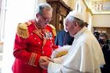 Príncipe y Gran Maestre  Frey Matthew Festing.