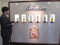 alex robertson explaining the ballantine's range