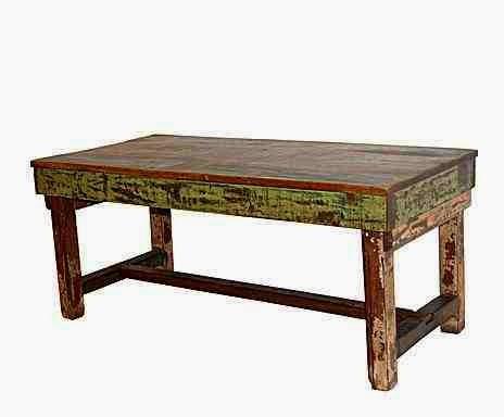 Stół z recyklingu