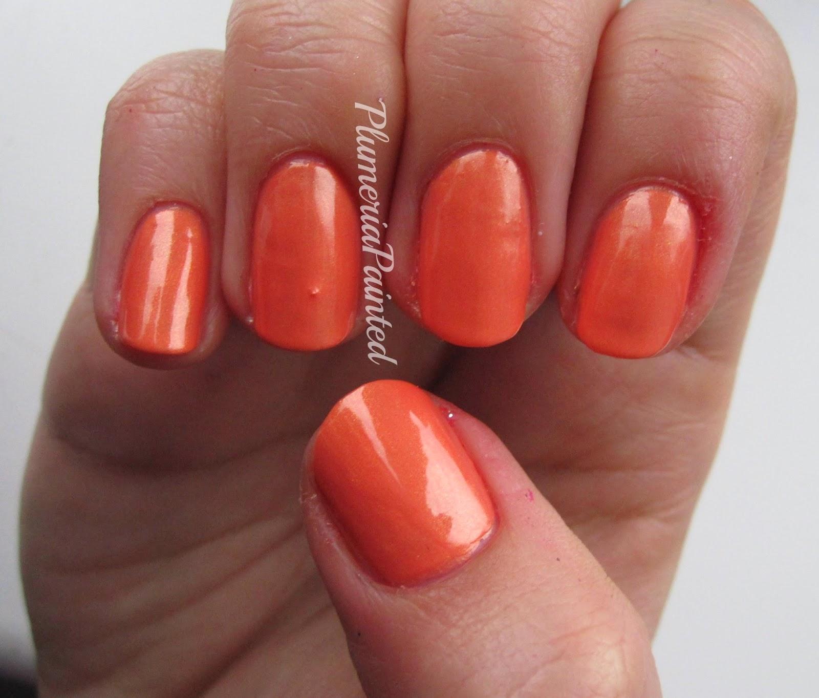 PlumeriaPainted: Orange Nails: Chilli Pepper - Orange (no name)