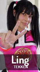 Cosplay Ling Xiaoyu de Tekken por Pah-chan