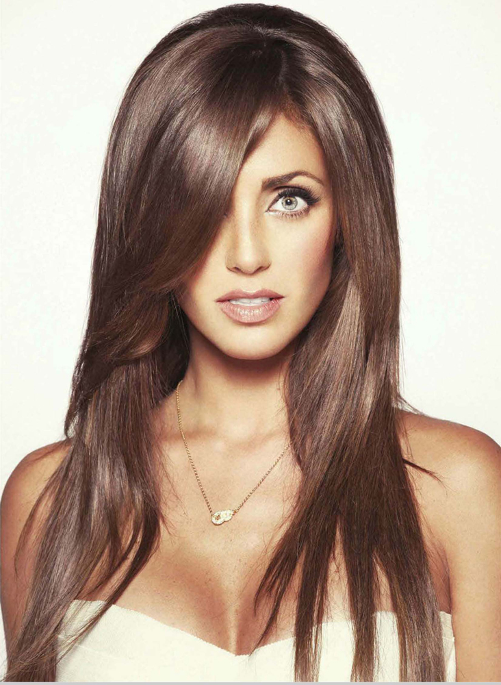 Anahi Hair Color