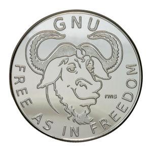 Imagen de monedas de Linux