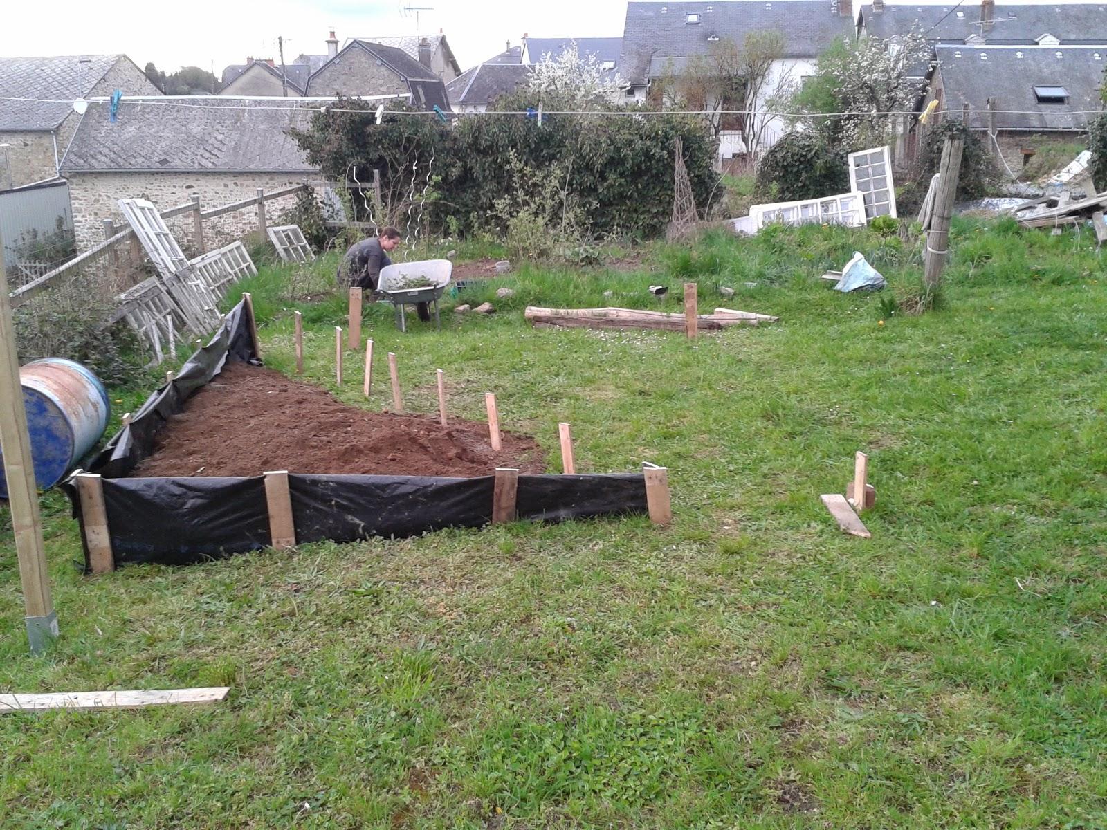 Exp rimentations jardins sur lev s for Cordeau de jardin