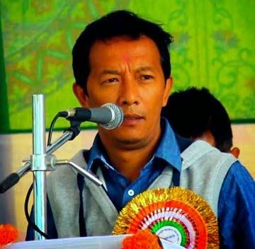 GJM assistant secretary Binay Tamang