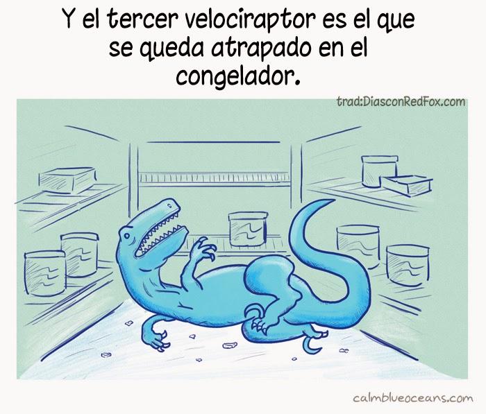Leyes de la naturaleza - velociraptor
