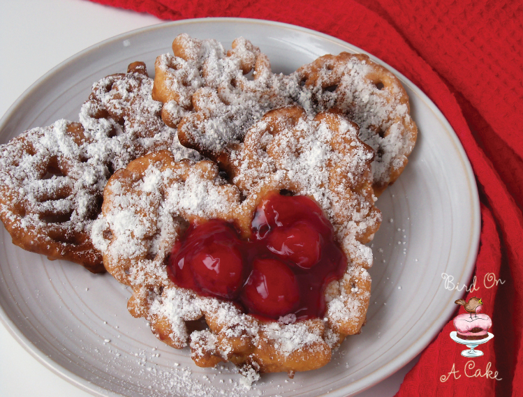 Bird On A Cake: Mini Funnel Cake Hearts