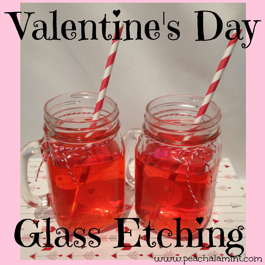 Valentine's Day Mason Jar Mugs