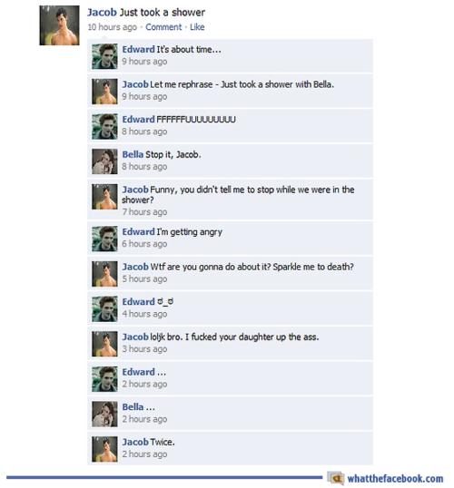 Funny Facebook Status Spoof: #