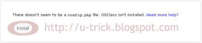 Tutorial install CMS OSClass