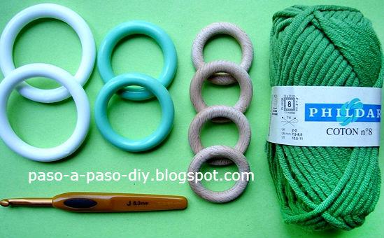 materiales para hacer arbolitos de navidad diy