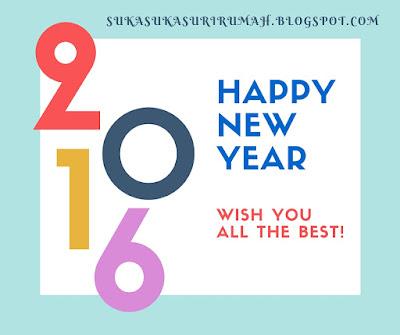 Let's revamp this life! ......... Selamat tahun baru 2016