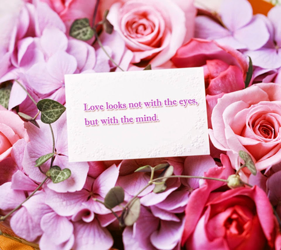 Love quote pink flower quotes beautiful love quotes for her with rose flower images izmirmasajfo