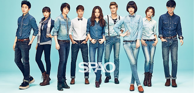 Super Junior fx SPAO S/S 2013