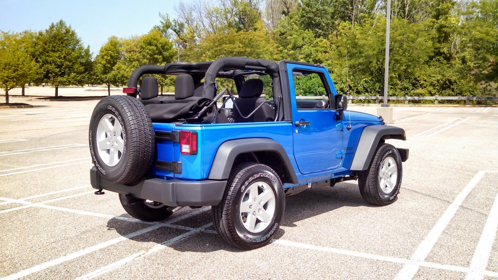 2015 Wrangler Jk Sport Test Drive Wranglerforumcom Addition Jeep Yj Sahara On 90 Hose Diagram Exterior No Major Surprise Here It Looks Like A Not Much Else To Say