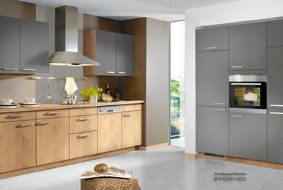 Decoraciones y modernidades moderno color gris para la cocina - Singular kitchen catalogo ...