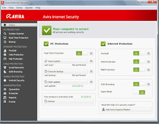 download License Keys Avira Internet Security Valid Until 2015 terbaru