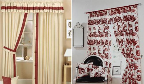 Tipos de telas de cortinas para el cuarto de ba o - Cortinas para casa de campo ...