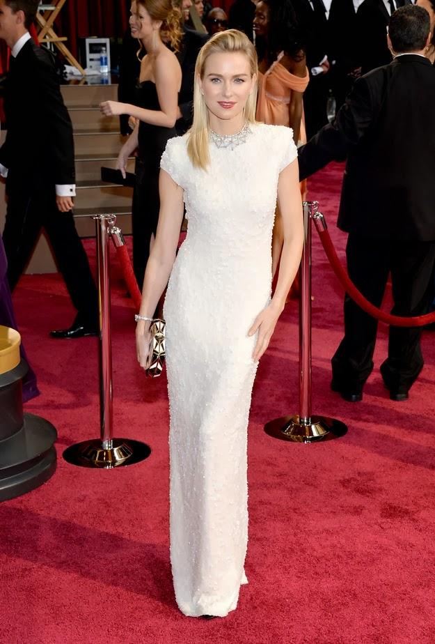 Naomi Watts in Calvin Klein at the Oscars