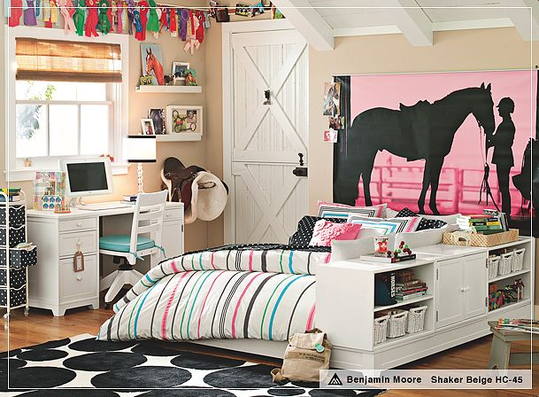 HorseThemed Teen Girl Bedroom