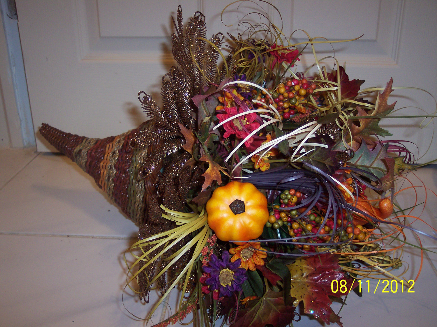 Autumn centerpieces for sale crafts picture