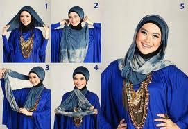 Cara Memakai Jilbab Mudah Modern Simple