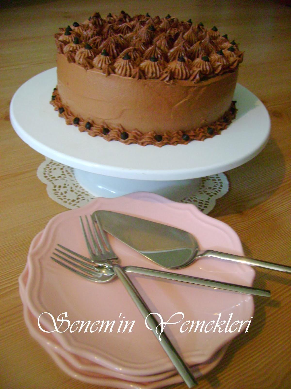 çikolatalı pasta senem