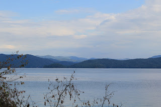 Lake Jocassee at Devils Fork State Park South Carolina