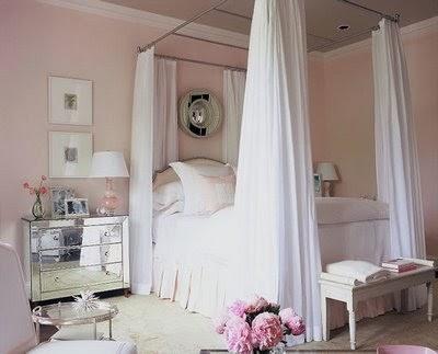 feminine adult bedroom pink The Glam Pad: 35 Feminine Pink Bedrooms