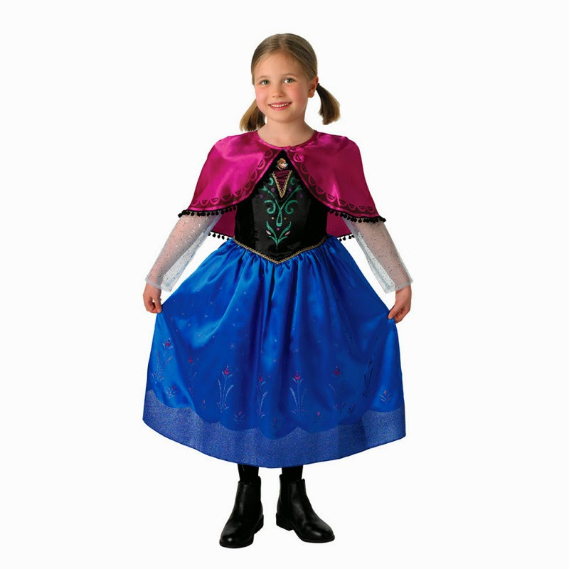 DISFRACES - DISNEY Frozen - Anna  Deluxe | Disfraz | Infantil | Niña | Rubies