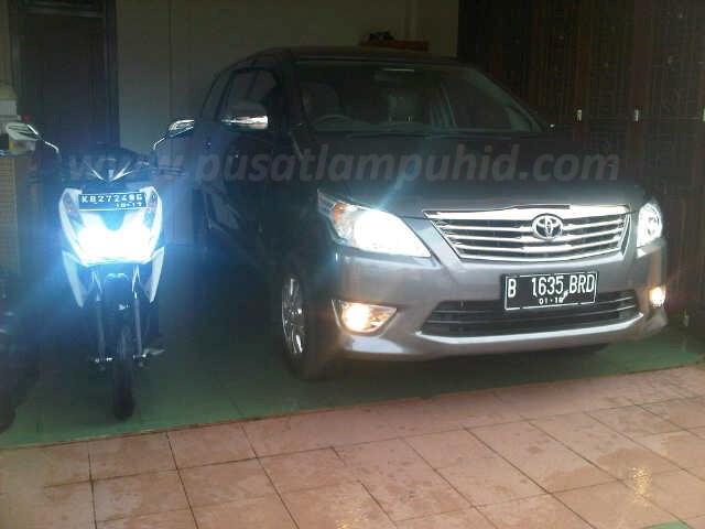 Lampu HID Mobil RICHTER putih 6000k