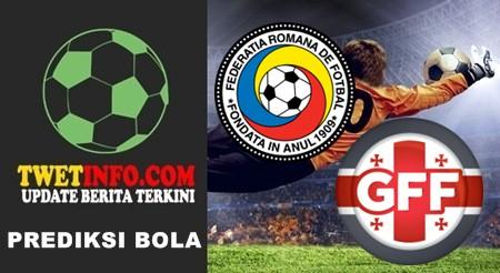 Prediksi Romania U17 vs Georgia U17