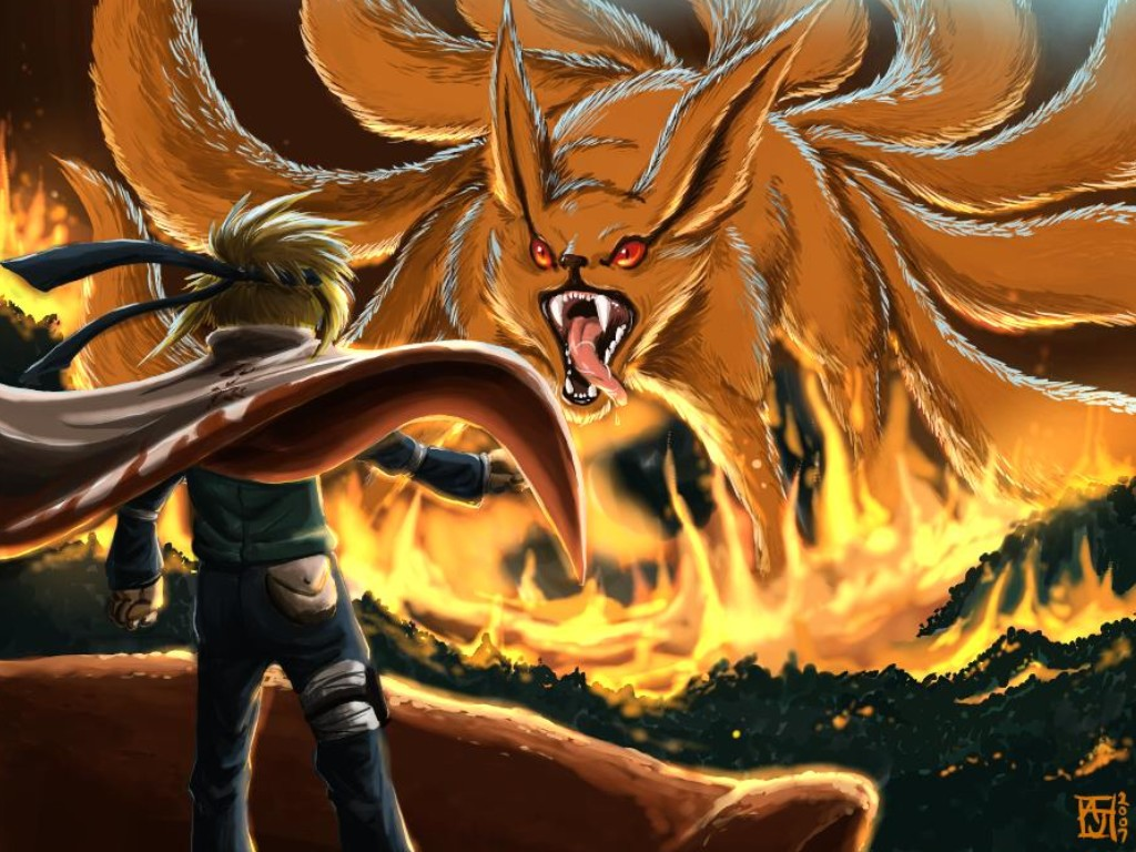 HD Naruto Kyuubi Wallpapers image