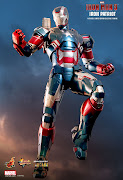 Pre Order Hot Toys 1/6 scale Iron Patriot die cast MMS195D01