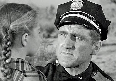 Sandy Descher and James Whitmore