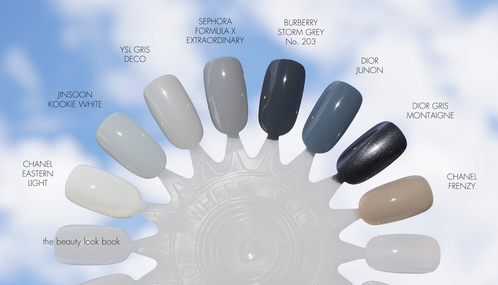 7 Shades of Grey Nail Lacquer | The Beauty Look Book