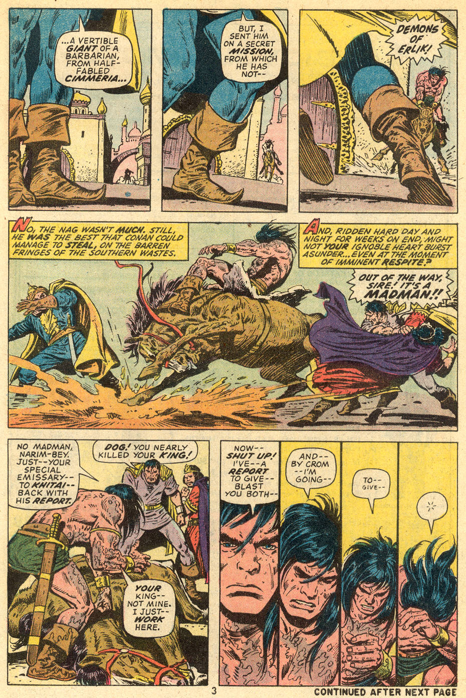 Conan the Barbarian (1970) Issue #36 #48 - English 4