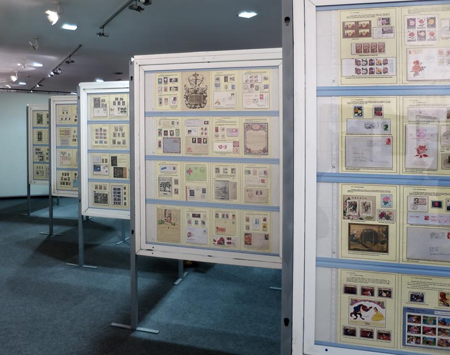 Exposición filatélica del Ventolín