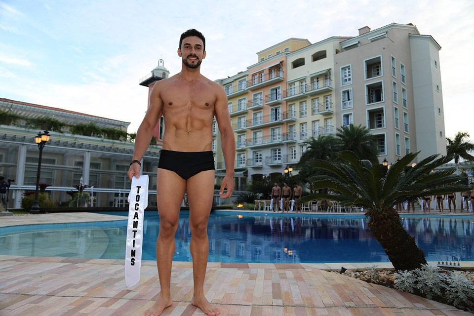 Mister Tocantins -  Lupércio Santana, 31 anos, 1,88 m - Foto: Leonardo Rodrigues