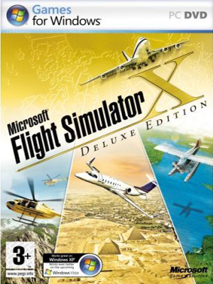 Download Microsoft Flight Simulator X Deluxe Edition [Español][Full]