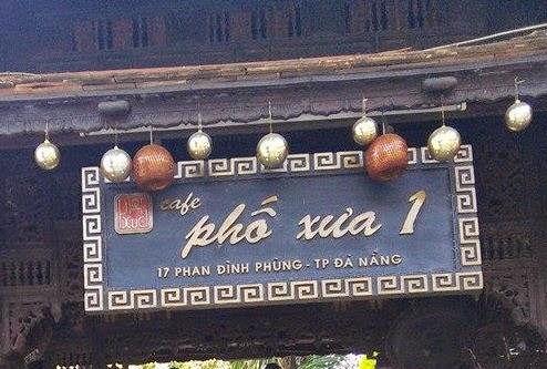 HÌnh ảnh Cafe Phố xưa