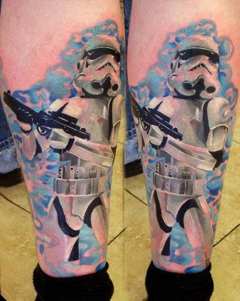Tatuajes Star Wars Guerra Galaxias, http://distopiamod.blogspot.com