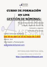 Curso Gestión de Nóminas- ABRIL 2015