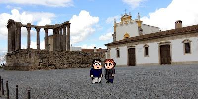 Casal Geek Eurotour 2013 - Descobrindo Évora
