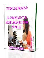 E-book Untuk Mulakan Bisnes Shaklee