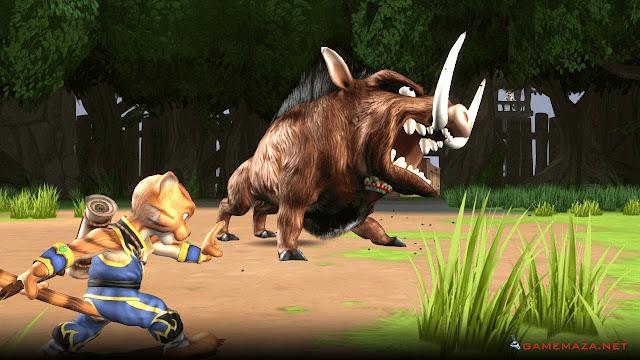 Legend Of Kay Anniversary Gameplay Screenshot 3