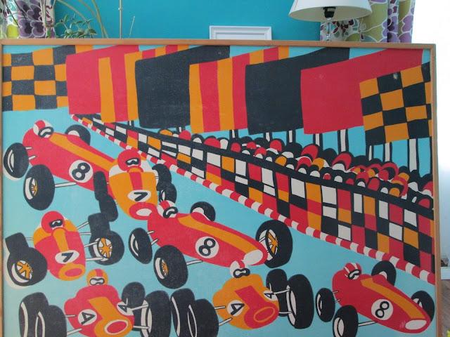Tampella kangas fabric formula cars autot