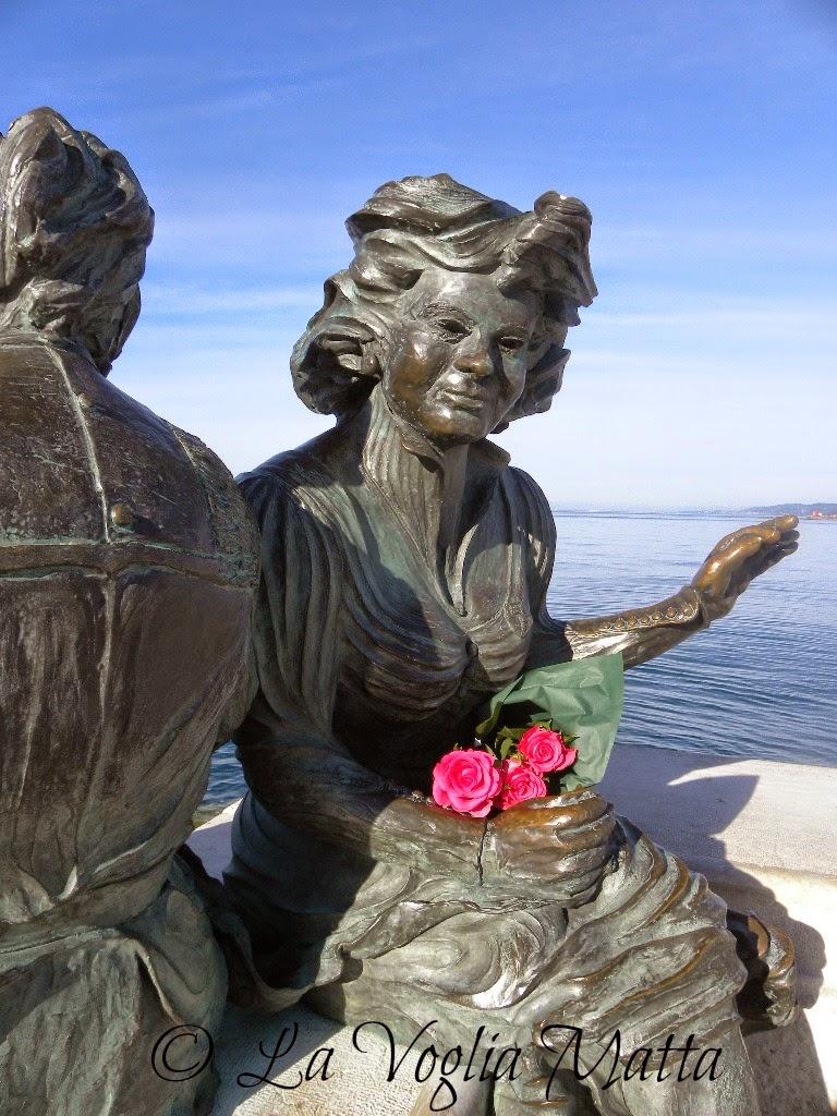 statue in bronzo Trieste