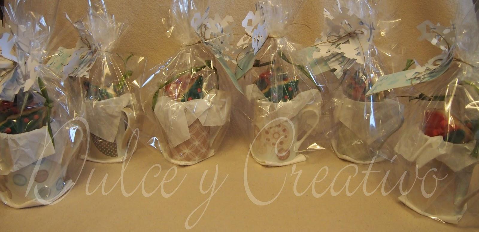 Dulce y creativo regalar for Adornos navidenos para regalar