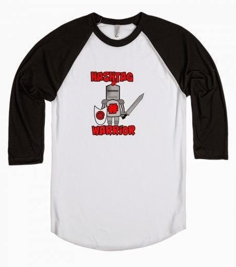 Hashtag Warrior Tshirt